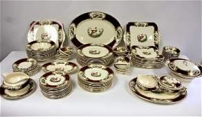 "Myott ""Chelsea Bird"" Porcelain Dinner Service(100 pcs)"