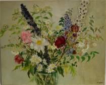 Antoinette Schulte; 20thC. American Oil Still Life
