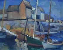 Joseph Raskin; 20thC. American Oil Painting Signed