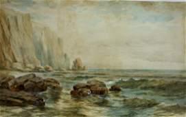 Louis F. Hurd; 19thC. American Watercolor Signed