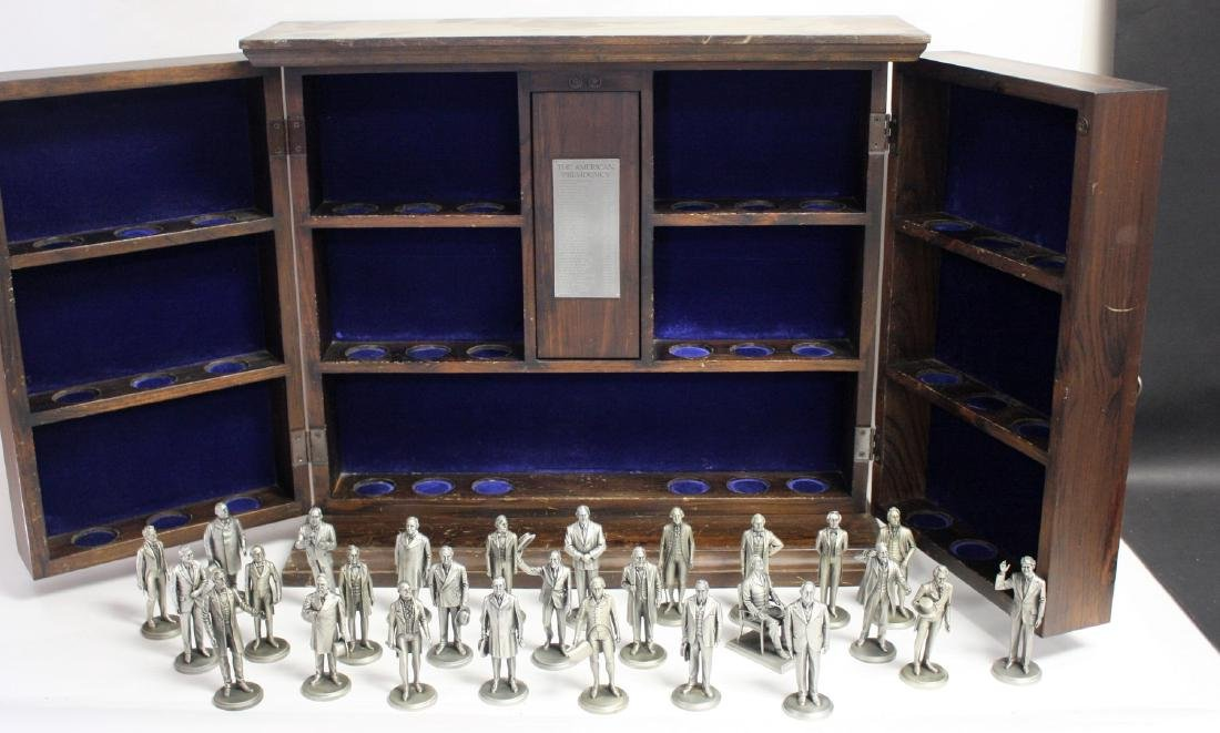 Limited Edition Lance Pewter - The Presidents(38)