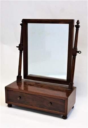 19thC Victorian Mahogany Shaving Stand