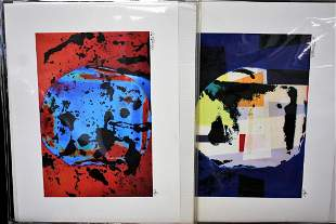 Aric FronsIsraeliAmerican Assorted Lithographs5