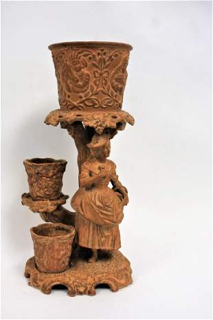 Classical Terracotta Plant Stand