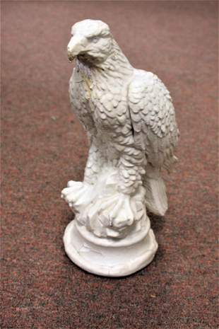 Early Painted Plaster Eagle