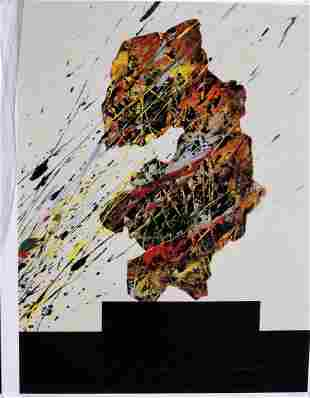 Aric FronsIsraeliAmerican Pigmented Ink on Paper