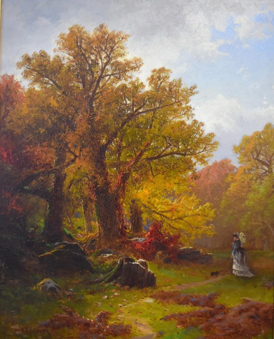 Alfred T. Bricher; 19thC. American Oil Signed