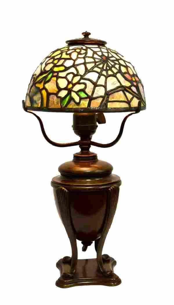 American Leaded Miniature Cobweb Lamp