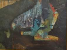 Tadeus Kantor(attributed to); 20thC. Polish Mixed Media
