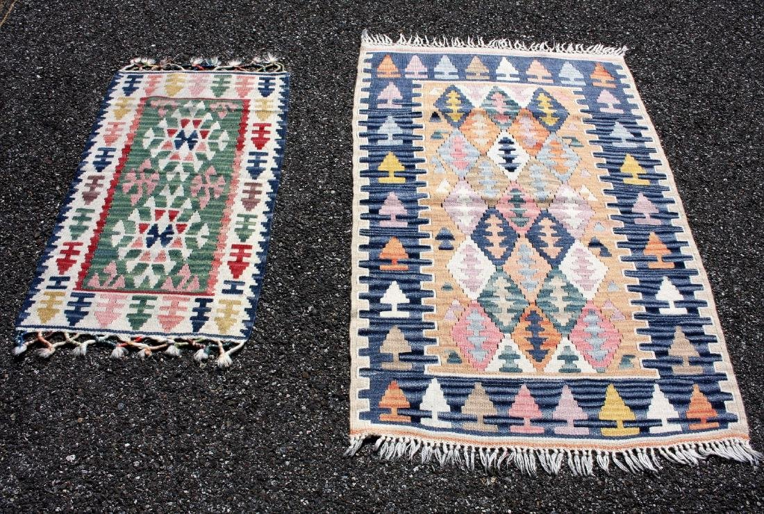 Two(2) Kilim Scatter Rugs