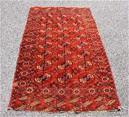 Antique Persian Estate Carpet 34 x 59