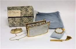 Judith Leiber Vintage Swarovski Clutch Purse