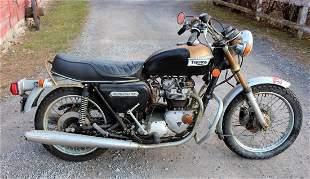 968 Triumph 750 Bonneville Motorcycle