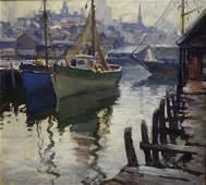 Emile A. Gruppe; American Oil - Gloucester Harbor