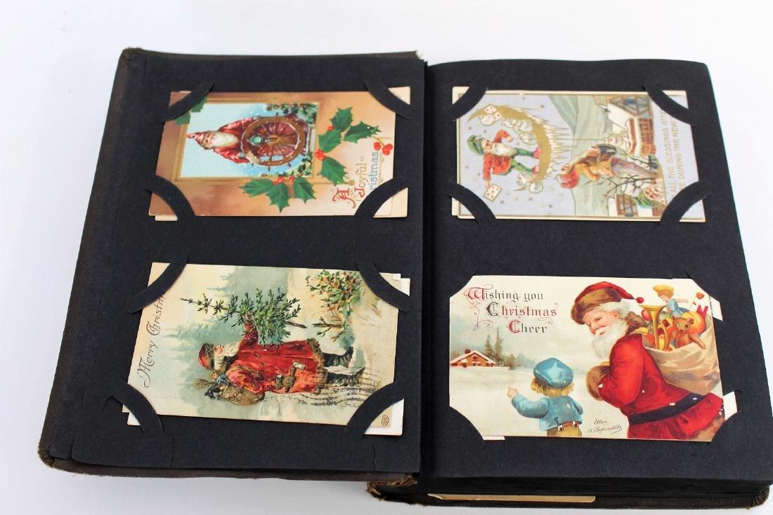 Antique Post Card Album(100+)