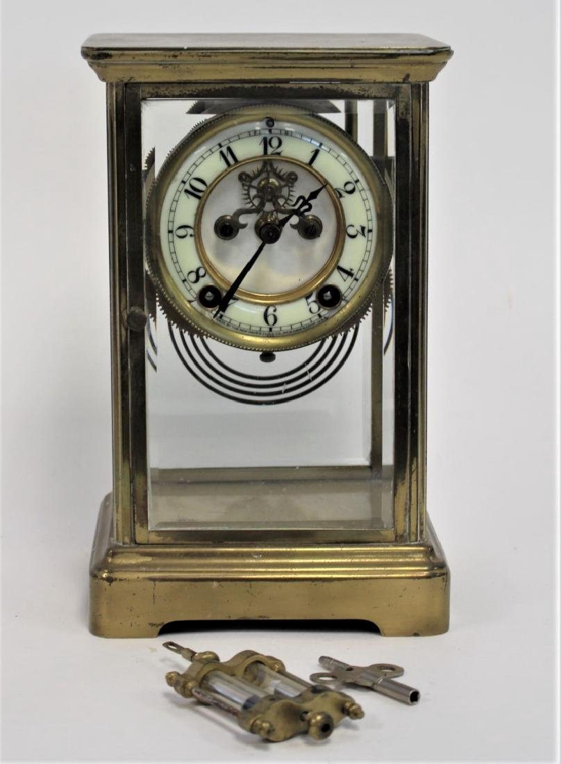 New Haven Crystal Regulator Clock