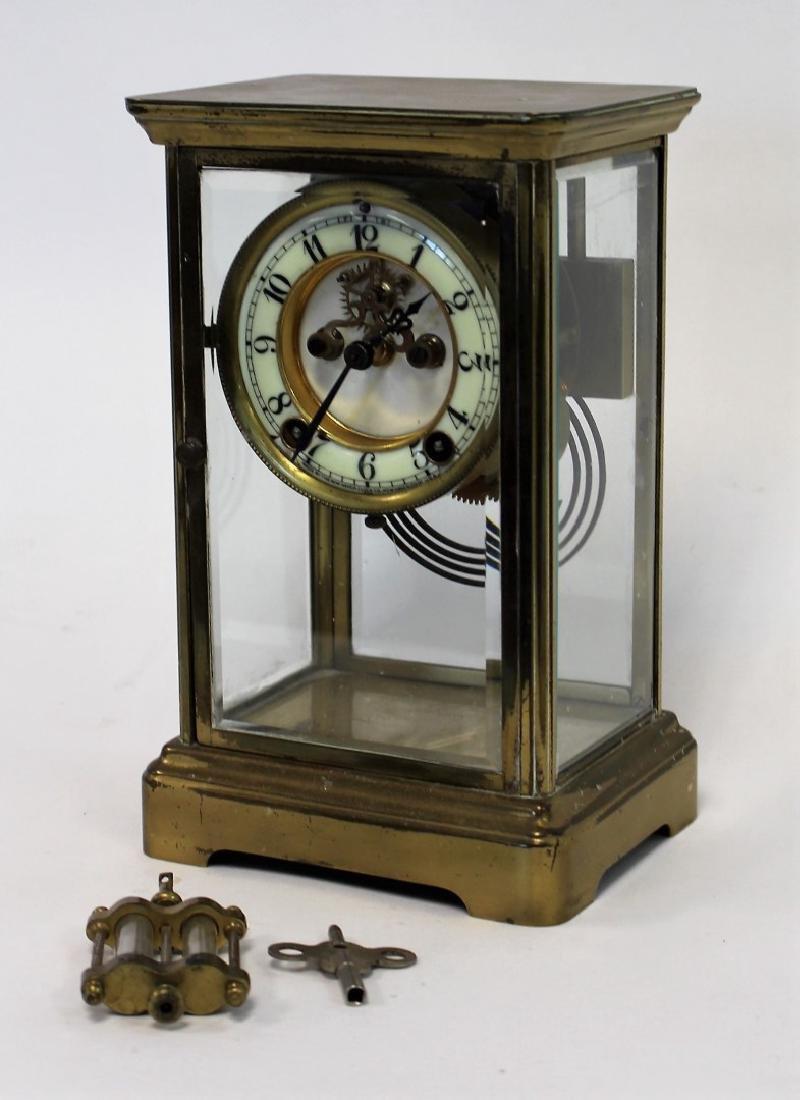 New Haven Crystal Regulator Clock - 2