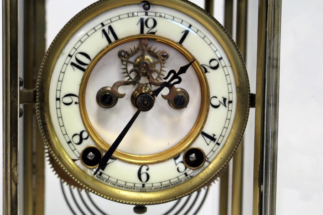 New Haven Crystal Regulator Clock - 4