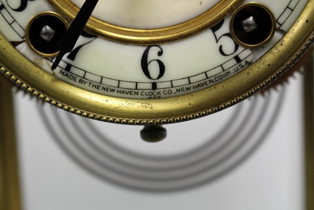 New Haven Crystal Regulator Clock - 5