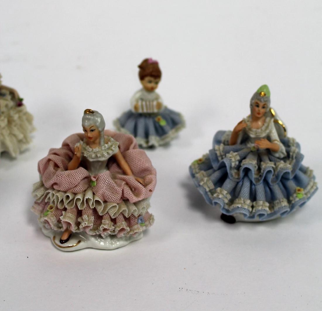 Six(6) Sandzell, West Germany Porcelain Figurines - 3