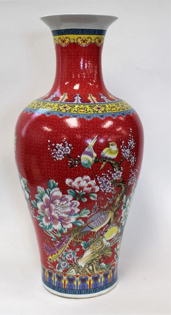 Chinese Porcelain Temple Vase