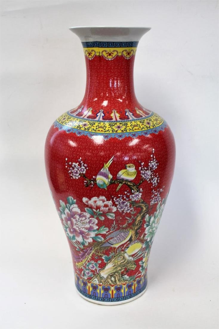 Chinese Porcelain Temple Vase - 2