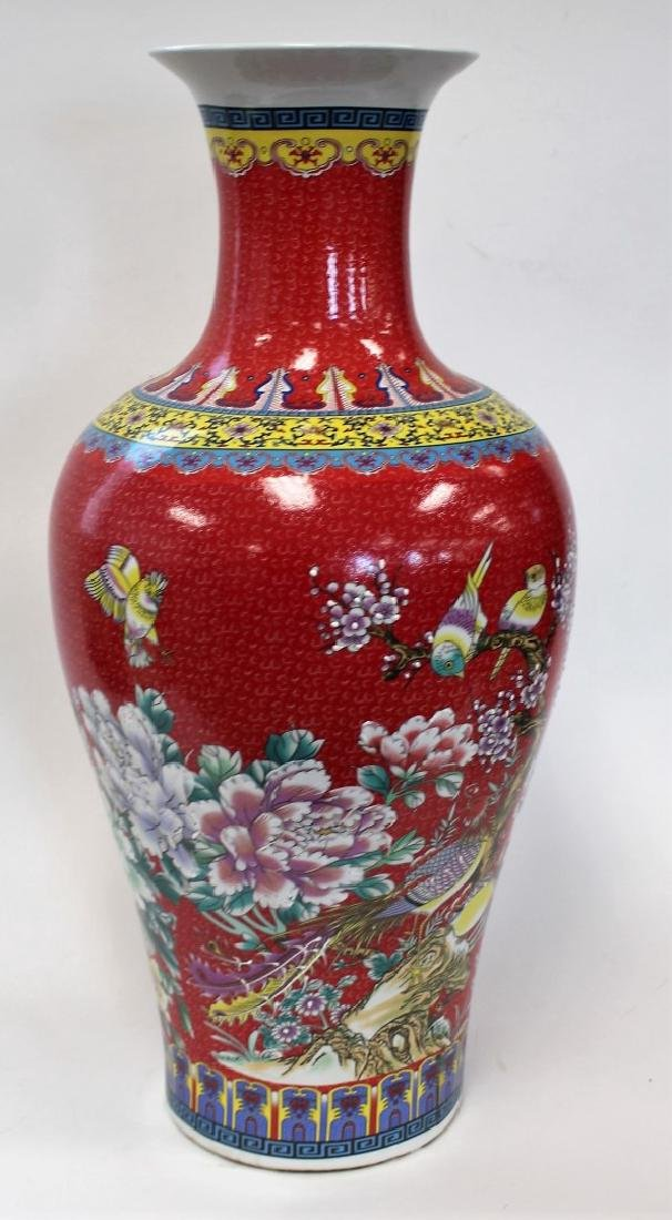 Chinese Porcelain Temple Vase - 4