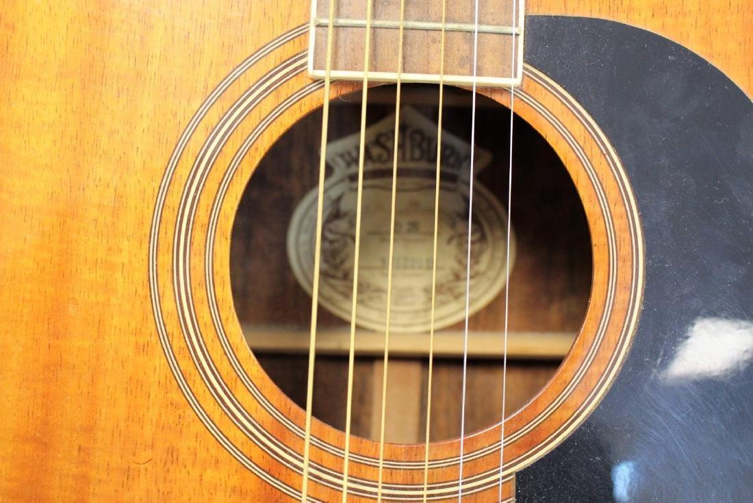 Washburn Acoustic Guitar - 4