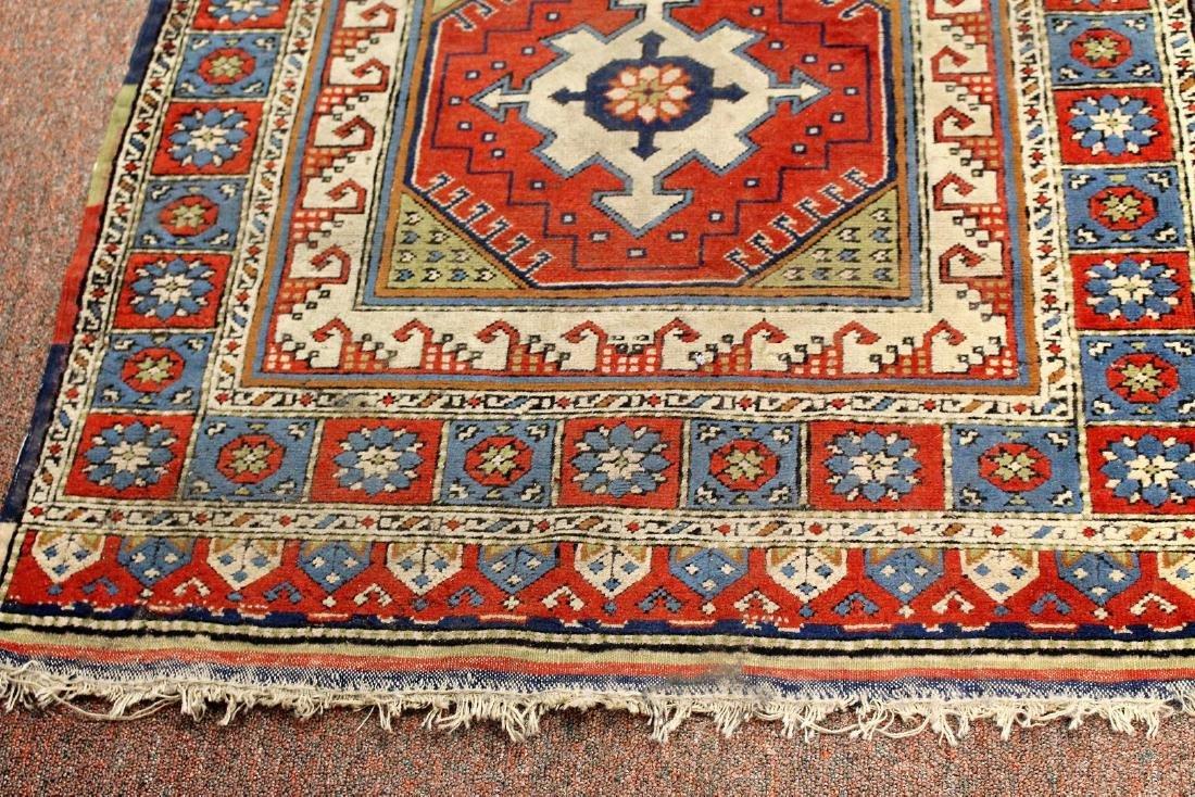 Semi-Antique Caucasian Carpet 2.10 x 4.1 - 4
