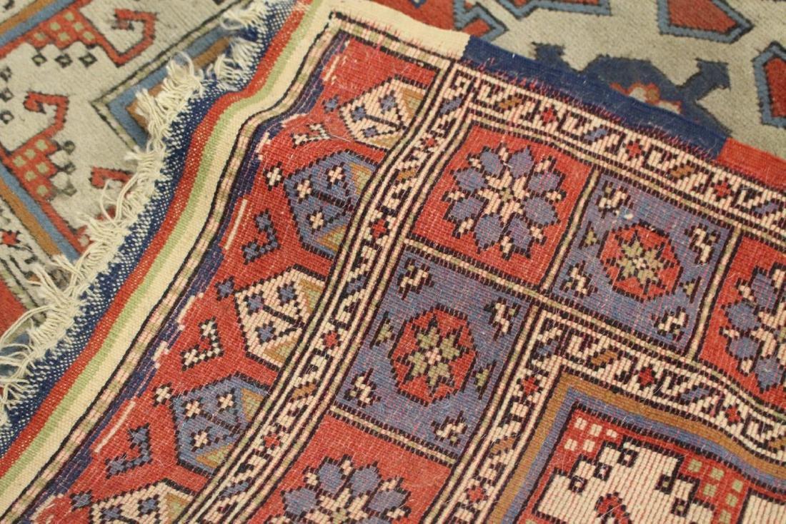 Semi-Antique Caucasian Carpet 2.10 x 4.1 - 5