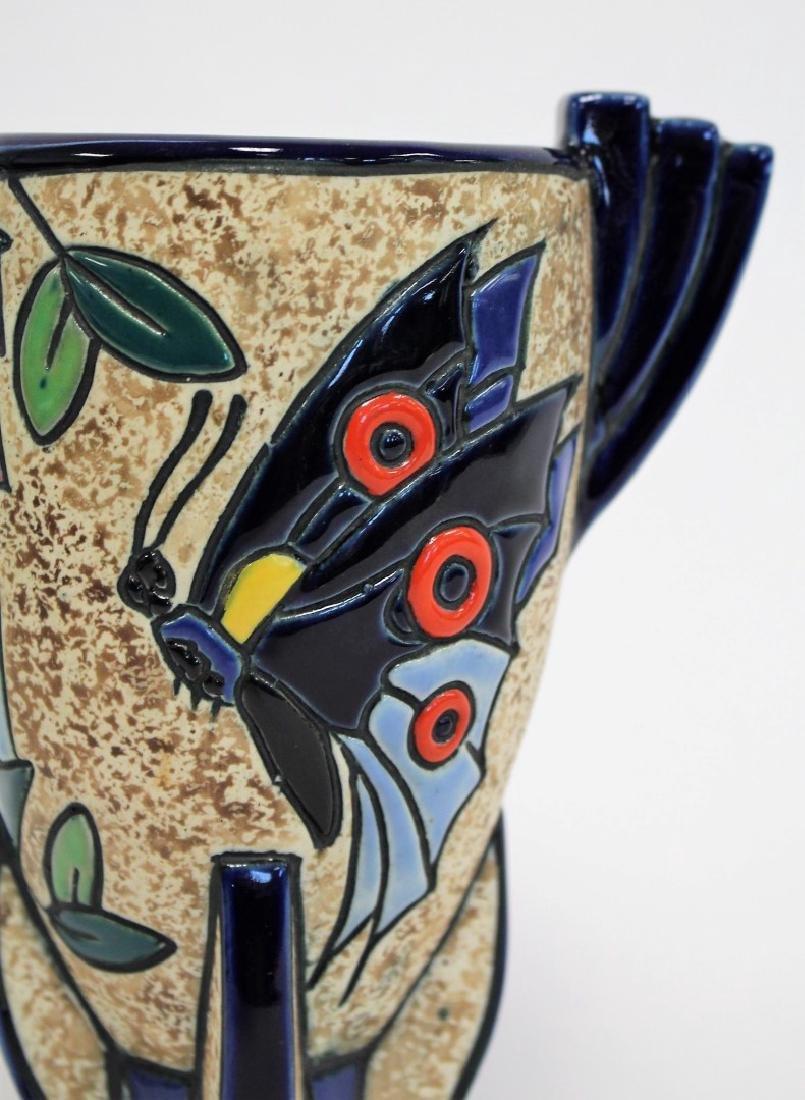 Amphora Art Deco Ceramic Vase - 2