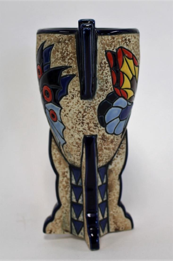 Amphora Art Deco Ceramic Vase - 3