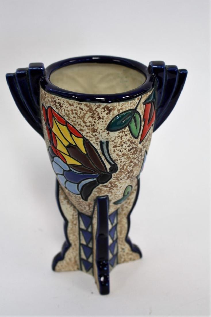 Amphora Art Deco Ceramic Vase - 4