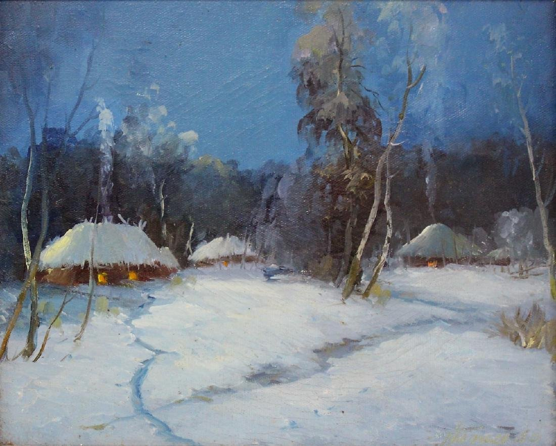 Danish Oil - Evening Snow Signed