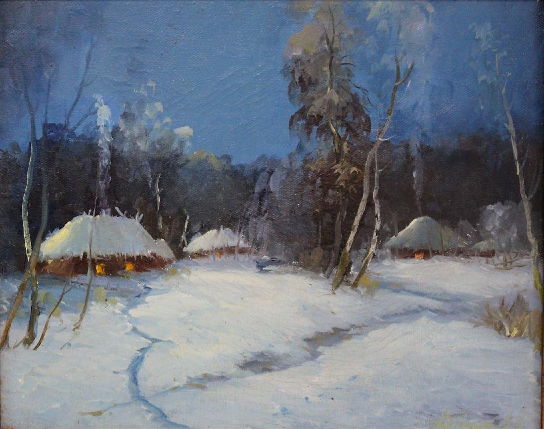 Danish Oil - Evening Snow Signed - 2