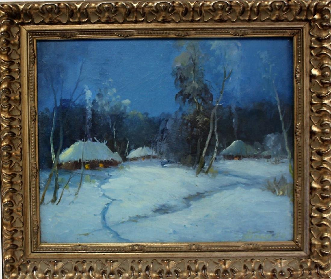 Danish Oil - Evening Snow Signed - 6