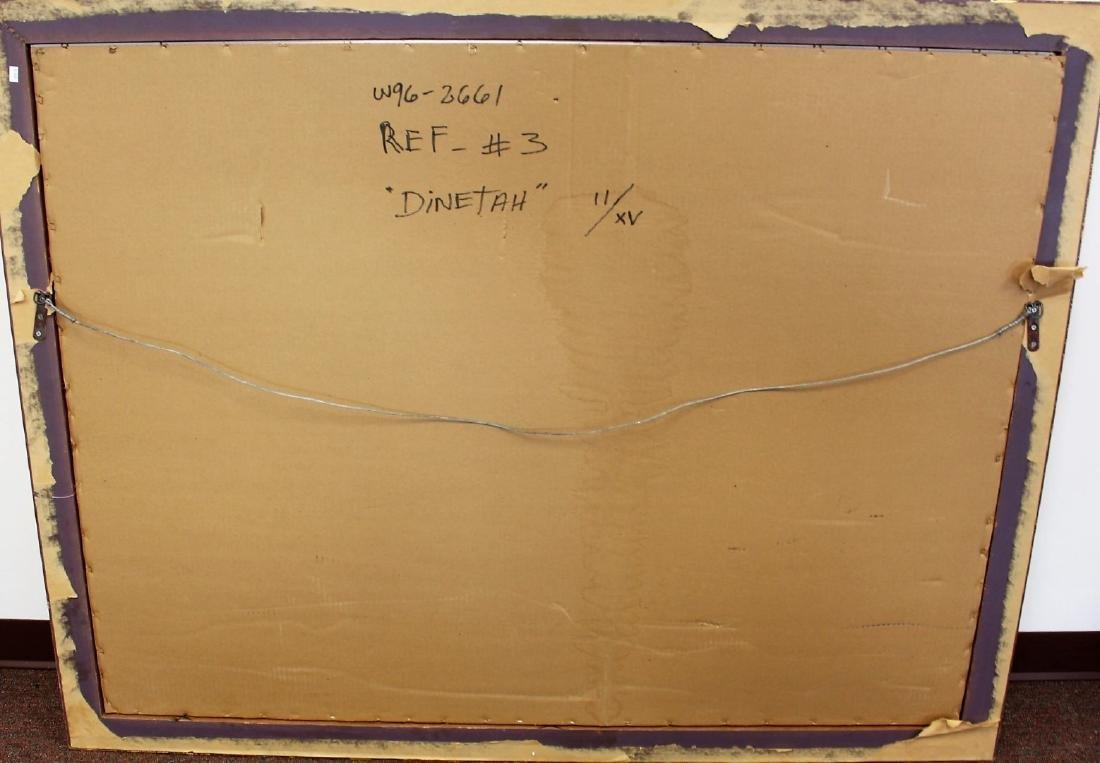 R.C. Gorman; Framed Lithograph - Dinetah - 6