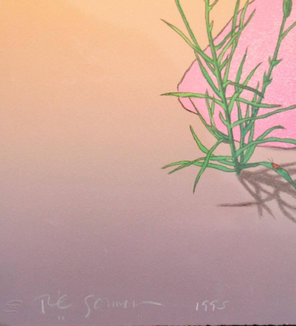 R.C. Gorman; Framed Lithograph - Deseo - 4
