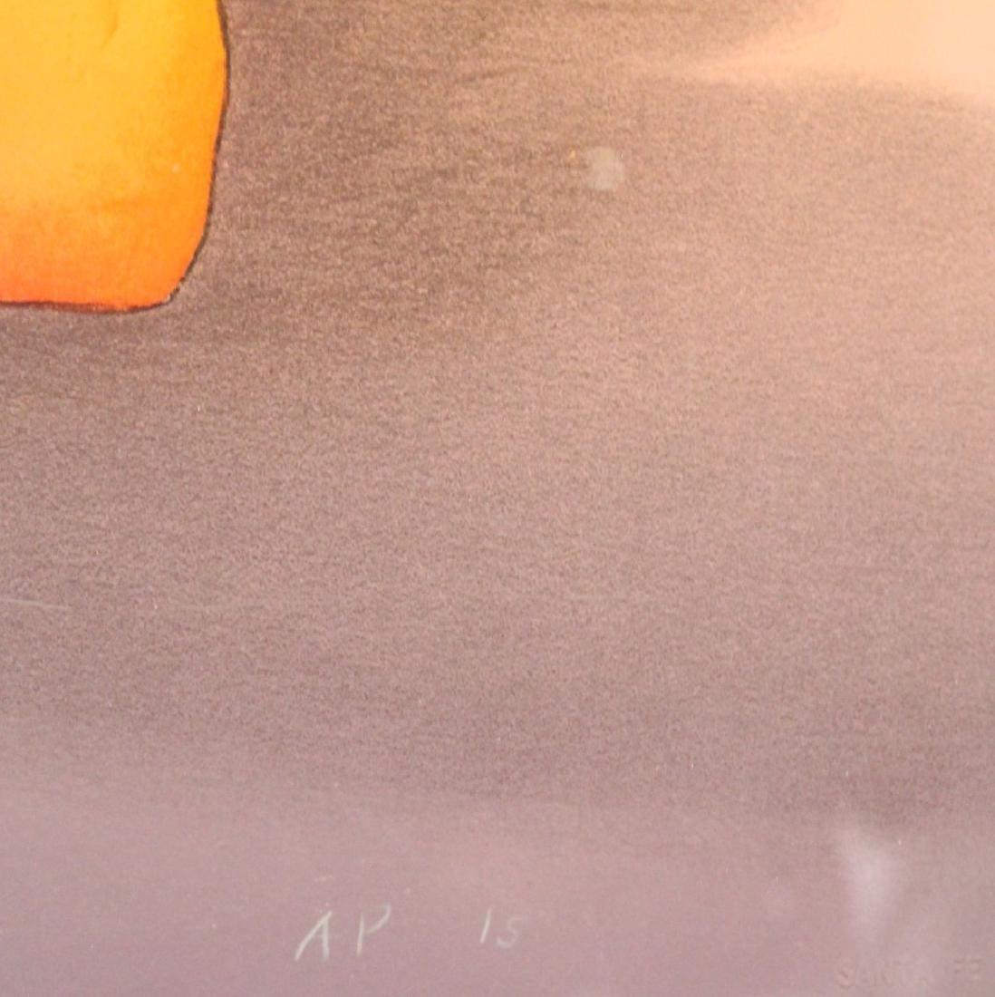R.C. Gorman; Framed Lithograph - Deseo - 5