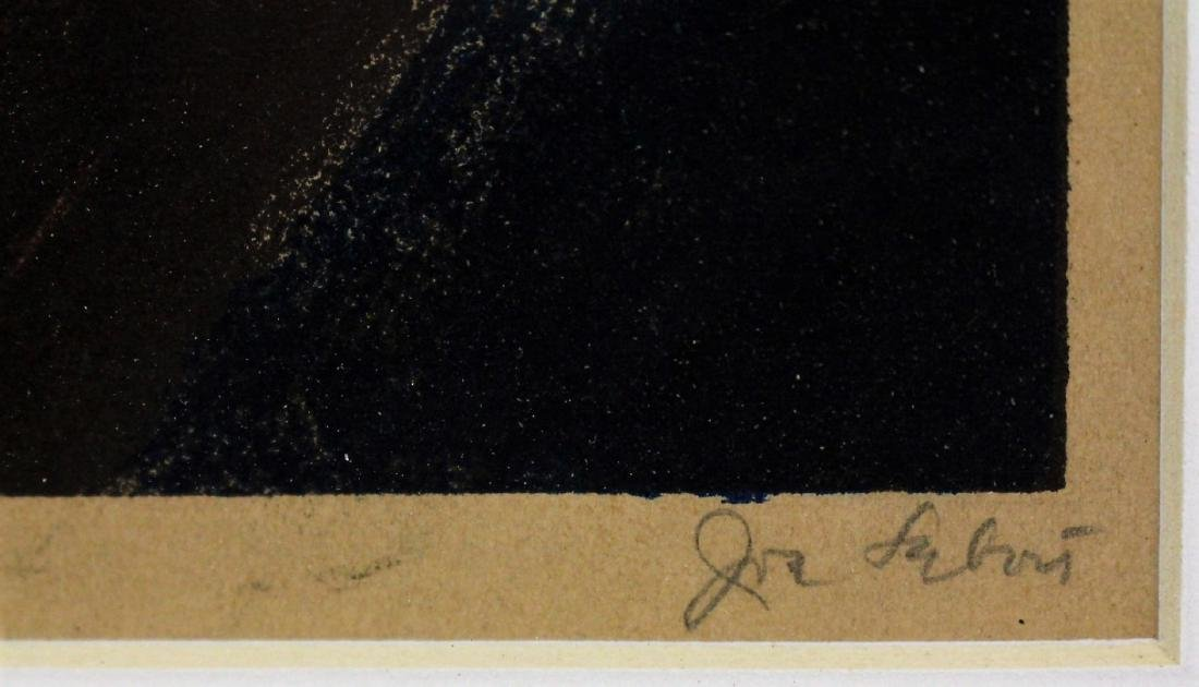 Joseph Leboit; WPA Lithograph Signed - 3