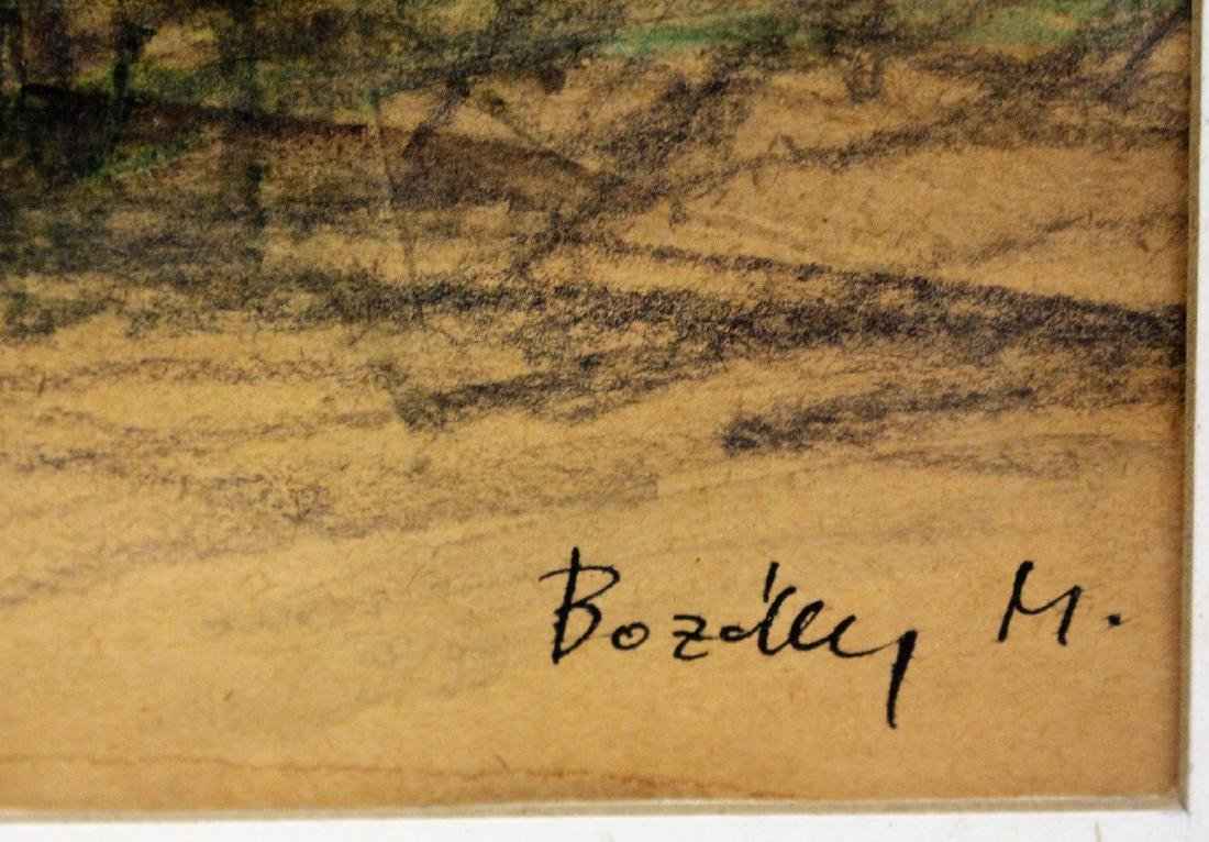 Maria Bozoky; 20thC. Hungarian Watercolor Signed - 2