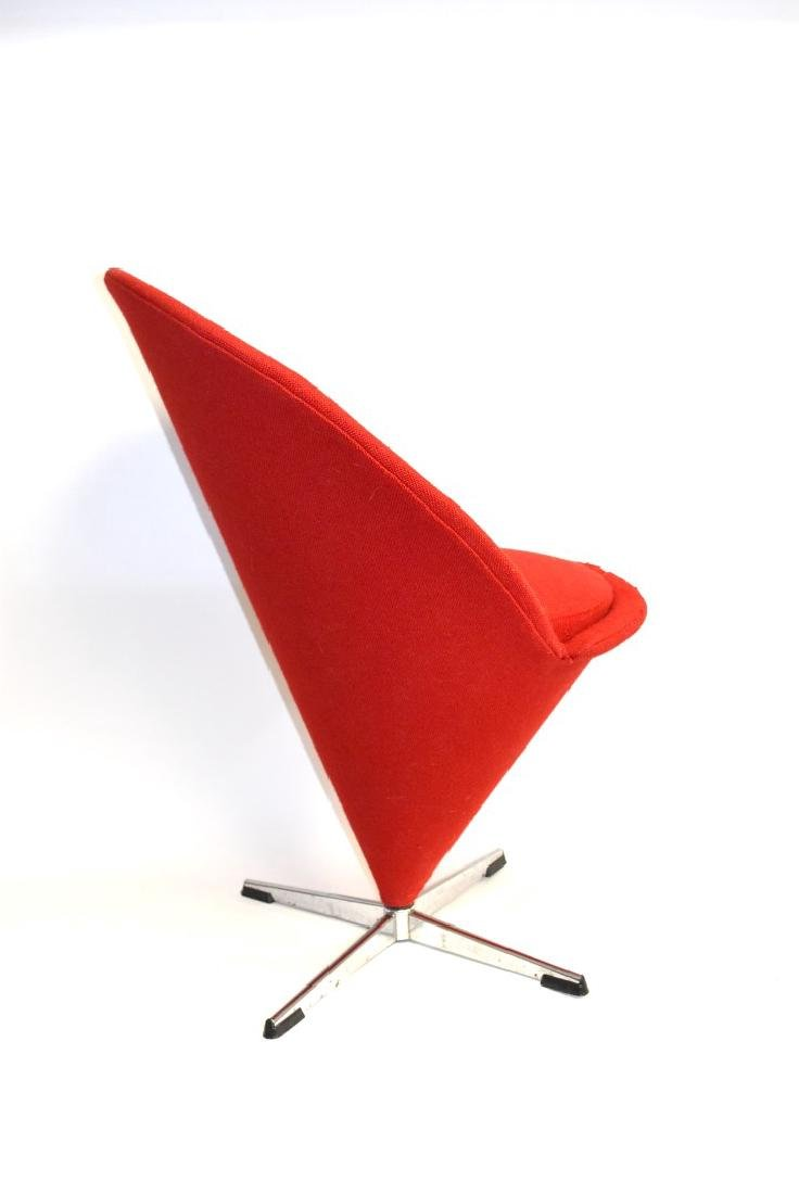Verner Panton Mid Century Cone Chair - 4
