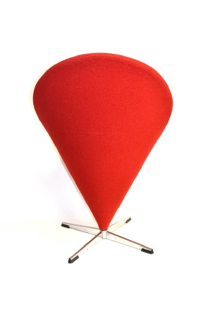 Verner Panton Mid Century Cone Chair - 5