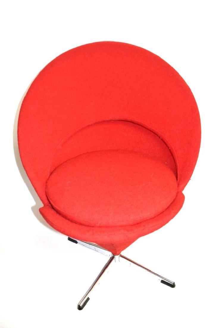 Verner Panton Mid Century Cone Chair - 6