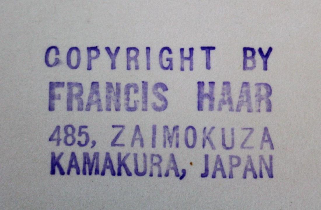 Francis Haar; Portfolio of Vintage Japanese - 4