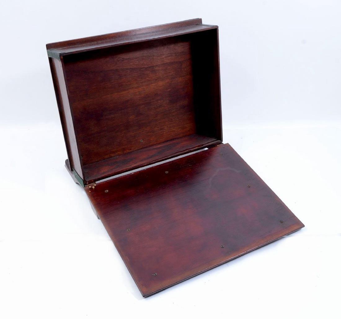 19thC. Japanese Shibiyama Lacquered Box - 6