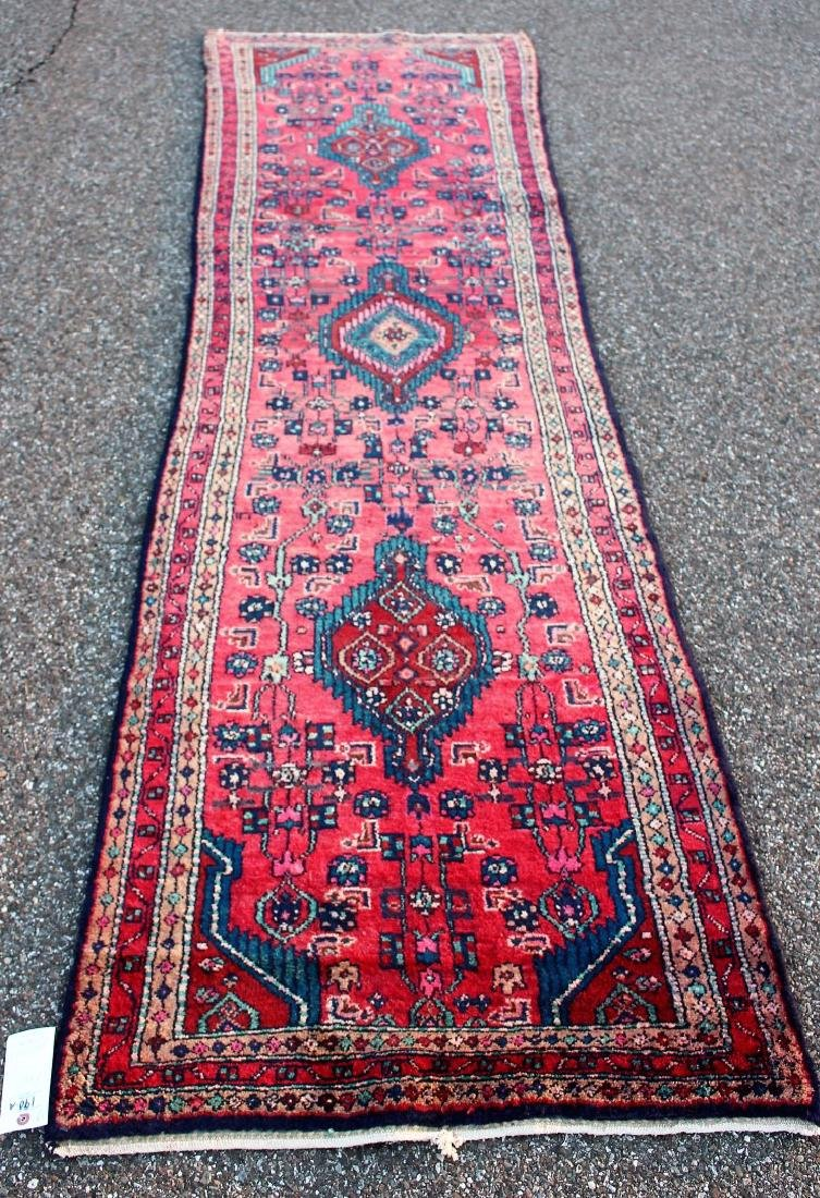 Semi Antique Persian Runner 2.9 x 10.2