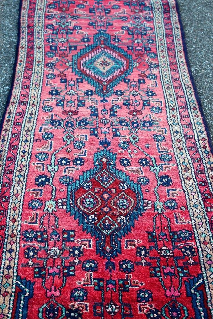 Semi Antique Persian Runner 2.9 x 10.2 - 2