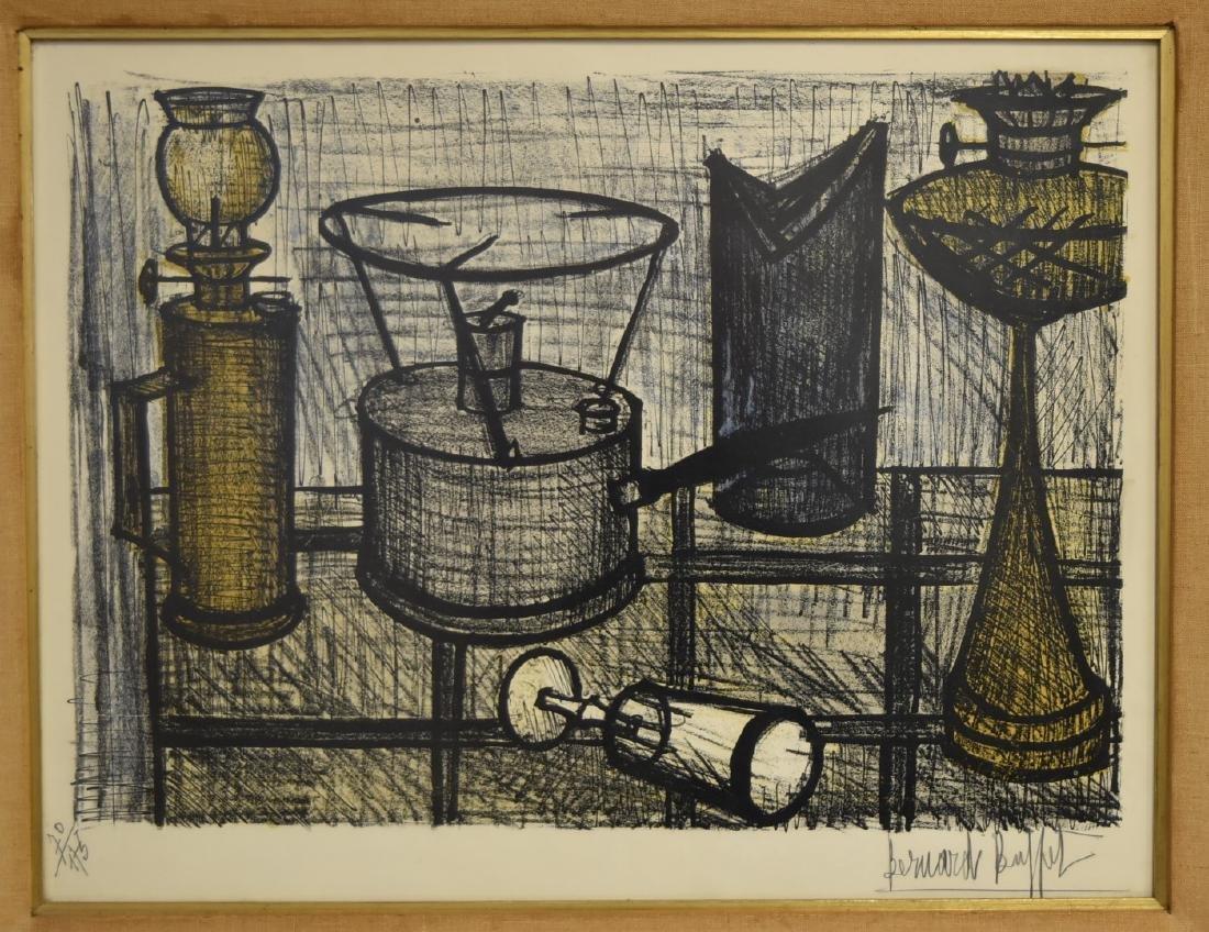 Bernard Buffet; 20thC. Color Lithograph Signed - 2