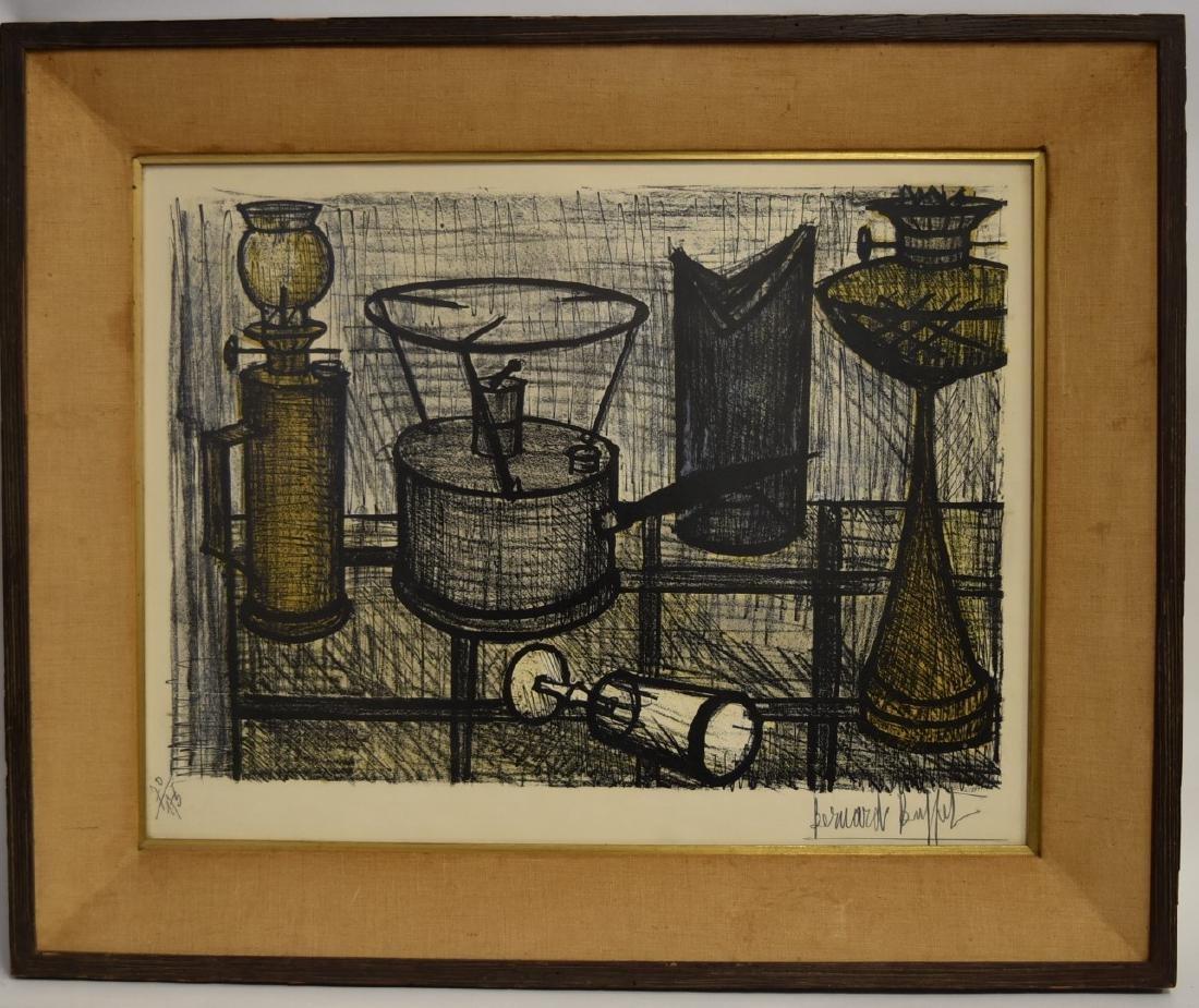 Bernard Buffet; 20thC. Color Lithograph Signed - 3